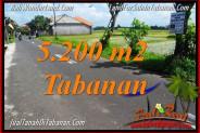 FOR SALE Affordable PROPERTY 5,200 m2 LAND IN TABANAN BALI TJTB351