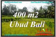 Magnificent 400 m2 LAND SALE IN UBUD BALI TJUB627