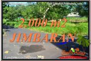 Beautiful 2,000 m2 LAND IN Jimbaran Uluwatu  BALI FOR SALE TJJI114