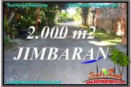 Magnificent PROPERTY LAND SALE IN Jimbaran Uluwatu  BALI TJJI115