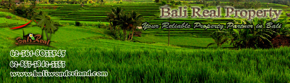 Land for sale in Jimbaran Canggu Ubud Tabanan by Bali Real Property