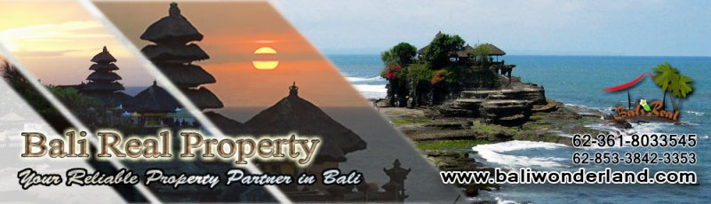 Land for sale in Jimbaran Tabanan Canggu Ubud by Bali Real Property